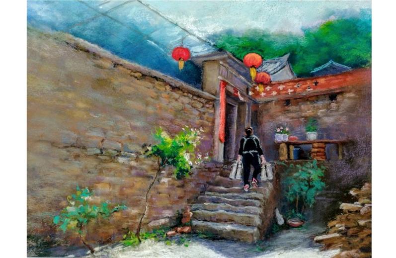 「台灣之美-印象、意象」海峽兩岸藝術家網路發展協會-五位藝術家聯展