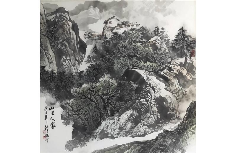 江山如畫─金津名家彩墨展