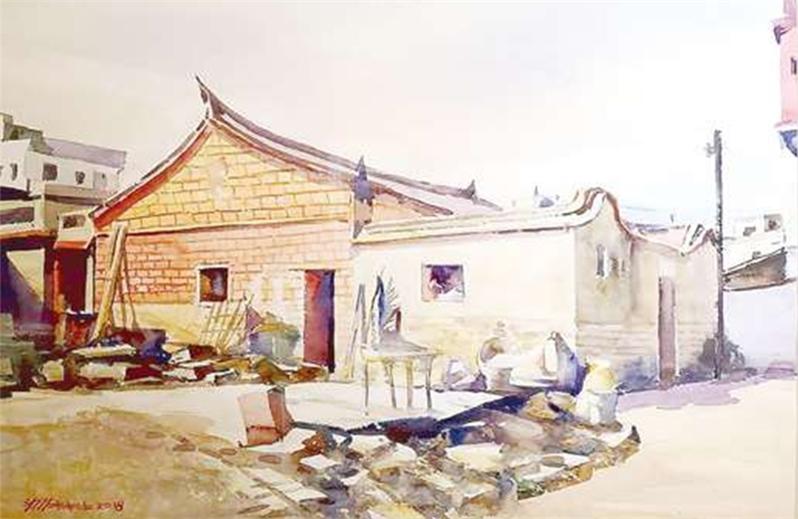 劉木林水彩畫個展