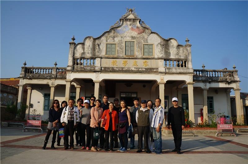 1100412桃園巿文化局率桃園文學家參訪與金門縣文化局交流