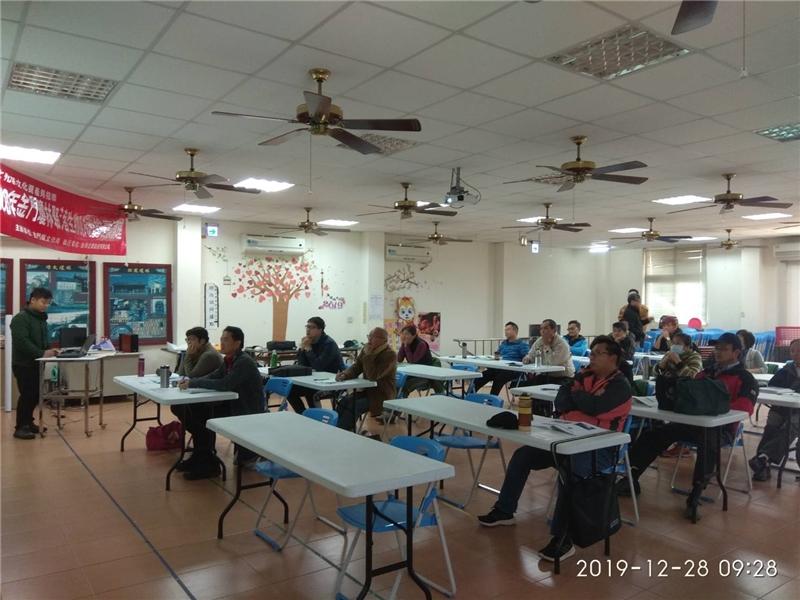 金門縣傳統建築保存防治培訓學員能力考核測驗